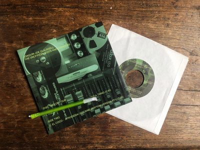 "Joaquin Joe Claussell Presents: The Unofficial Edits & Overdubs Special Limited 7"" Vinyl( DISC 2of4) + Bonus Download. main photo"