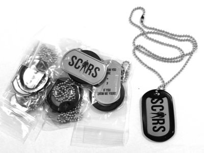 Scars Chain with Dog-Tag main photo