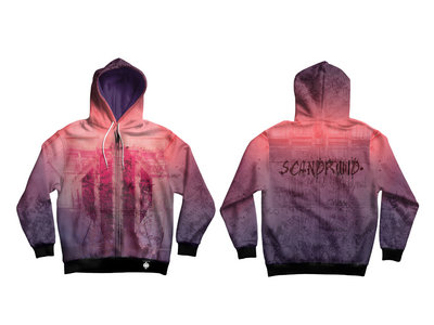 The Light All-Over Print Zip-Up Hoodie main photo