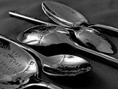 Lyric Engraved Spoons photo