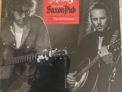 """Live At The Saxon Pub w/ David Grissom CD"" main photo"