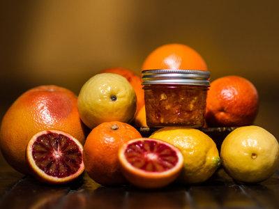 Holiday Preserves! Blood Orange Cardamom //OR// Triple Citrus Marmalade main photo