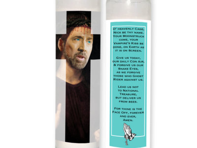 The Nick Cage Prayer Candle main photo