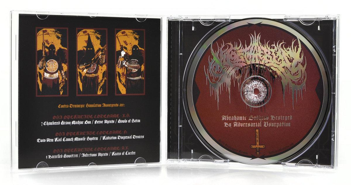 Nyogthaeblisz T-Shirt black metal