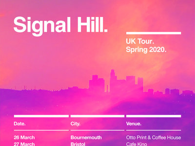 NOTTINGHAM, The Chameleon. Signal Hill + Good Weather for an Airstrike + Umber. 1st April 2020. main photo