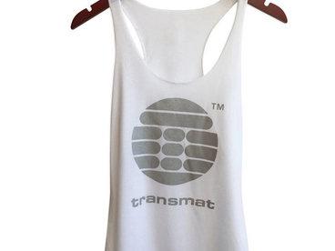 Transmat™ Records Logo Women's Raw Edge Tank Top main photo