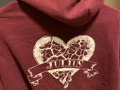 BURGUNDY Hoodie main photo