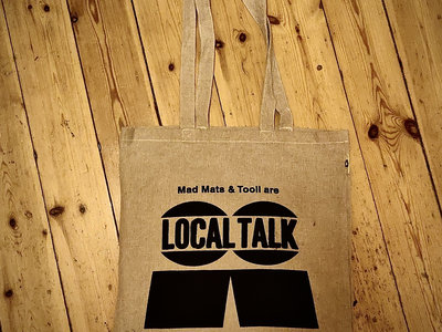 Organic Cotton Tote Bag with LT Logo (Black) main photo