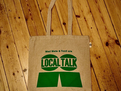 Organic Cotton Tote Bag with LT Logo (Green) main photo