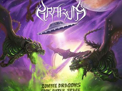 Zombie Dragons From Outer Space - Digipack CD main photo