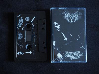"""""""Depressive Black Metal Plague"""" Cassette main photo"""