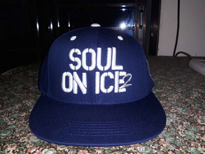 LA style Ras Kass fitted cap (Dodgers colors) + FREE GIFT CD main photo