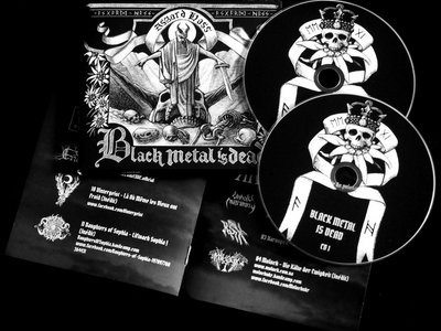 V/A - Black Metal Is Dead – Compilation 2 x CD DIGIPACK main photo