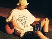White Baja Boy T-Shirt photo