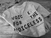 TSHIRT ::: AF x 'VOICELESS' photo