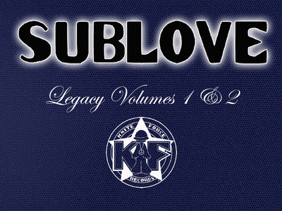 Sublove Legacy CD Vol 1 & 2 (Double CD) main photo