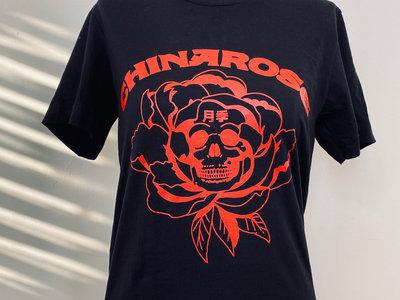 ChinaRose Skull Tee (BLACK/RED) main photo