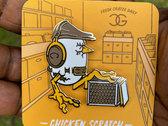 Chicken Scratch Pin + Patch Bundle photo