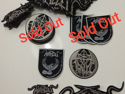 Circle  logo patches 10cm, Logo Patches 25cm and 10cm main photo