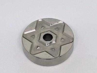 7 inch Adapter STAR OF DAVID (Heavy Steel) main photo
