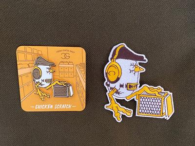 Chicken Scratch Pin + Patch Bundle main photo