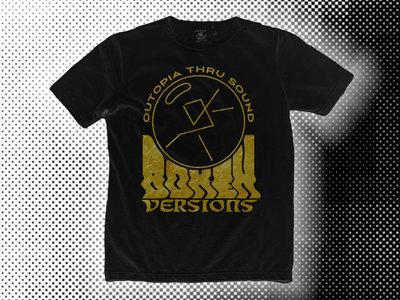 Gold on Black™ Bokeh Logo tee main photo