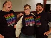 Rainbow KatH T-Shirt photo
