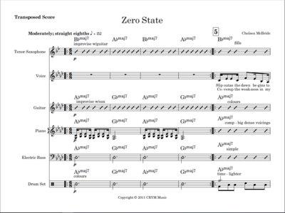 Zero State - score and parts main photo
