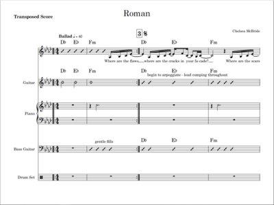 Roman - score and parts main photo