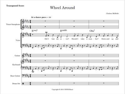Wheel Around - score and parts main photo