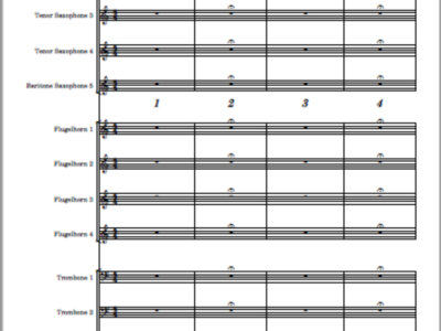 State of Mind (reprise) - score and parts main photo