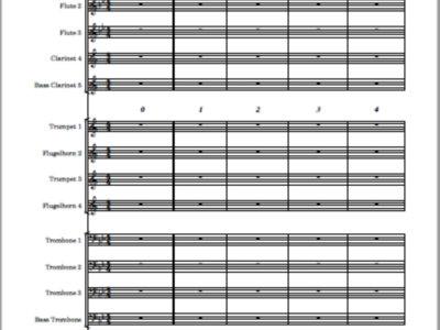Ambleside - score and parts main photo