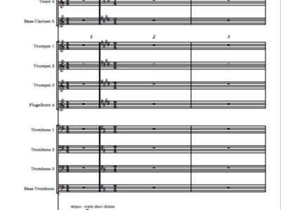Intransitory - score and parts main photo