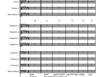 Ambleside (reprise) - score and parts main photo