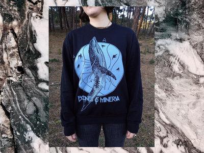 'Whale' sweater (blue print) main photo