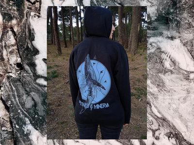 'Whale' hoodie (blue print) main photo