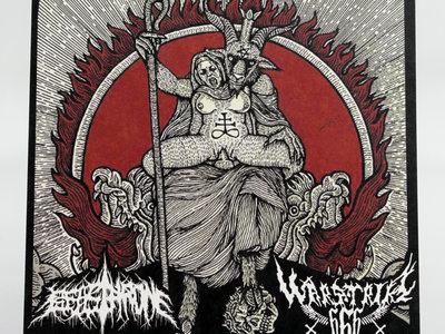Beasthrone / Warstriker 666 - Split main photo