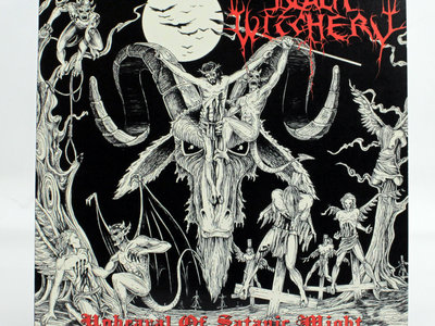 Black Witchery - Upheaval Of Satanic Might Vinyl LP - Osmose/NWN main photo