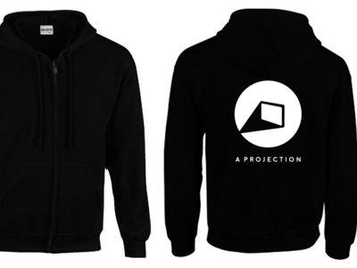 A Projection Logo zipped Hoodie Backprint very ltd. !!!! main photo