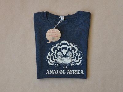 """Analog Africa Women T-Shirt """"Discharge-Bleach"""" Technique NEW main photo"""