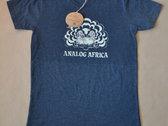 """Analog Africa Women T-Shirt """"Discharge-Bleach"""" Technique NEW photo"""