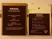 Rwake - If You Walk Before You Crawl, You Crawl Before You Die (8 track tape) photo