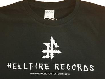 Hellfire Records T Shirt VARIATION 2 : (NEW LINE FOR 2020) main photo