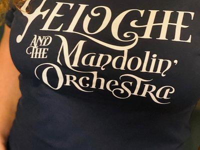 "T Shirt ""Mandolin' Orchestra"" en coton bio main photo"