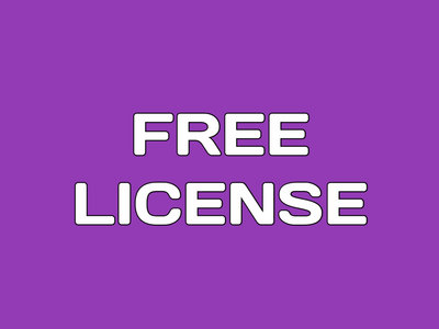 Free License main photo