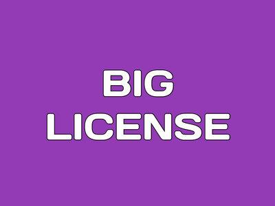 Big License main photo