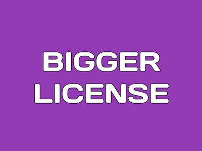Bigger License main photo