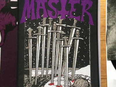 Confusion Master Backpatch Swords main photo