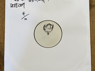 "Dope on Plastic Vol.01 - 12"" Black Test Press [ Dope Plates 009 ] main photo"