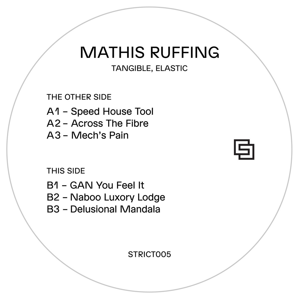 Mathis Ruffing ‎– Tangible, Elastic